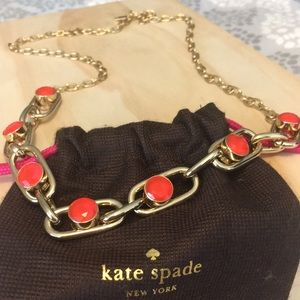 Kate Spade gold necklace ♠️